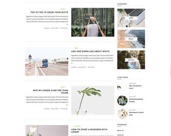 Vivona WordPress theme - Responsive WordPress Theme - Blog template - Fashion template - Wordpress blog theme