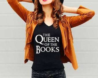 Librarian Gift, literary tshirt, librarian tshirt, readers gonna read, bookish, Bibliophile, i like big books, reading shirt, librarian