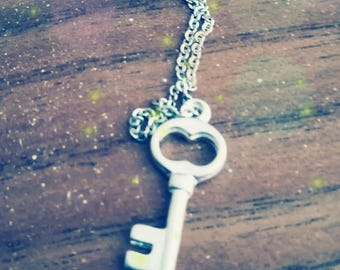 Woman Key necklace