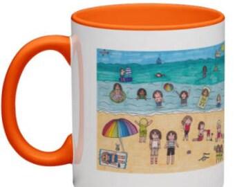 Student Seaside Vacation Coffee Mug
