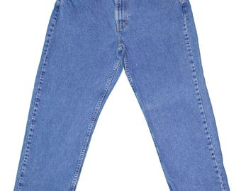 TOMMY HILFIGER High-Waisted Medium Wash Denim Jeans Women's Size 12 - Vintage / Retro / 1990's