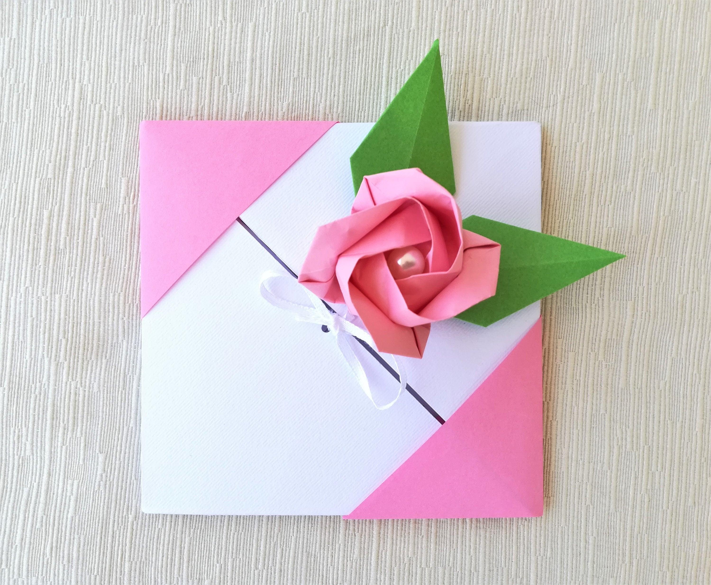 Origami Wedding Greeting Card Free Shipping Australia