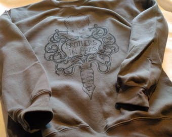 Brothers in Arms GREY sweater