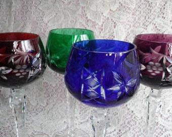 Cut-To-Clear Wine Glasses SET 4