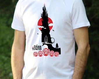 Dark Tower Tshirt Gunslinger Shirt Dark Tower T-Shirt Gunslinger Dark Tower mens shirt Stephen King tshirt Crimson King t shirt