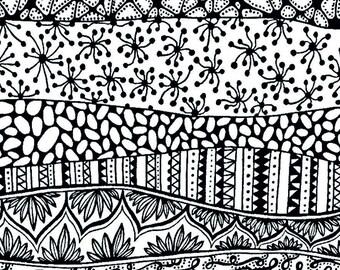 Silk screen stencil No. 106