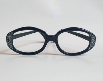 NOS, Vintage 1960s Stormy De Luxe Eyeglasses by 'House of Frames' USA