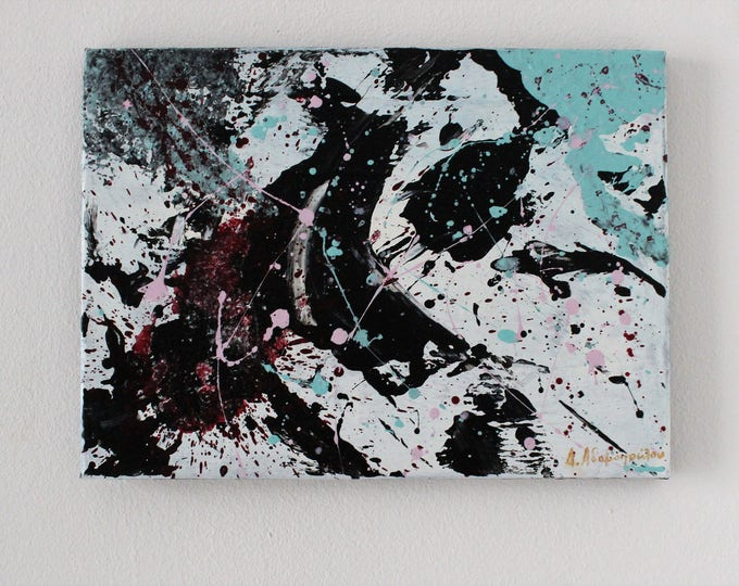 Independence No.2 38x28cm Original Abstract Painting