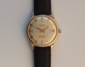 Vintage GROVANA gents watch, SWISS made, circa 1970, very nice condition------------Serviced------------
