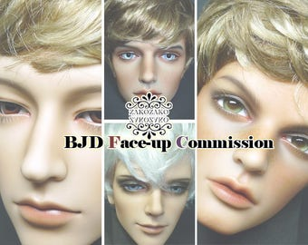BJD Face-up Commission(Man)