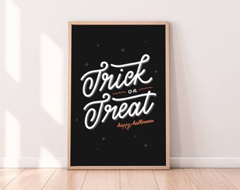 Halloween Wall Art – Trick or Treat