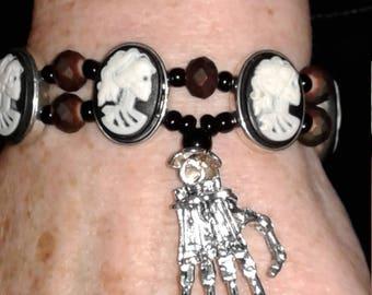 Madame Macabre Cameo Bracelet