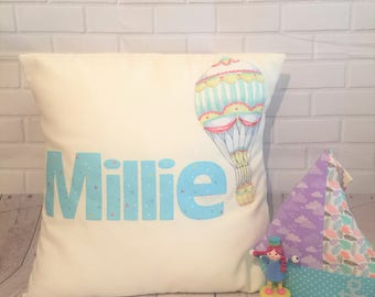 Personalised Pillow - Any Name/Phrase/Slogan Added To A Cushion - Home Decor - Nursery/Kids - Gift for her - Baby Shower Gift