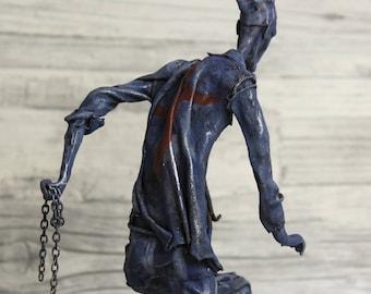 KZ HOMINIS - SONDERKOMMANDO WW2 - mixed media Sculpture