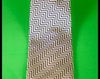Moschino vintage chic tie, silk tie, fashion, costume, gift idea for men tie