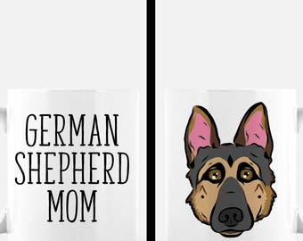 German Shepherd Mug | German Shepherd Mom Mug | German Shepherd Gift | Cute Dog Mug | Dog Lover Gift | Dog Mom Gift