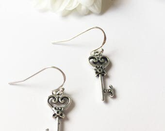 """""""Keys to the garden"""" earrings"""