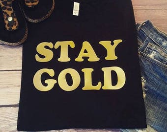 Stay Gold, Pony Boy, outsiders tee, soft feel