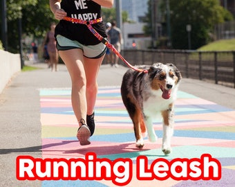 Running Leash - Hands Free Leash great for Running, Jogging, and Training