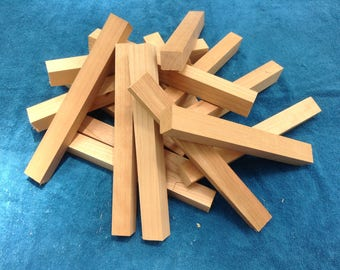 Cherry Wood Blanks, Pen Blanks, Knife Scales, Wood Turning, DIY Woodworking Project