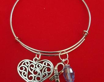 Down Syndrome Themed Charm Bracelet