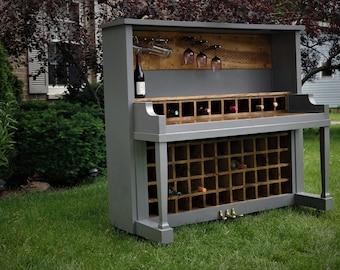 55 Bottle Upright Piano Wine Bar