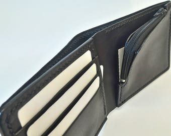 Leather Potafoglio with coin purse