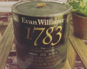 The Evan Williams Candle