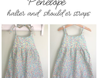 Penelope multi-wear Sundress - Girls - Limited Edition - Size adjustable