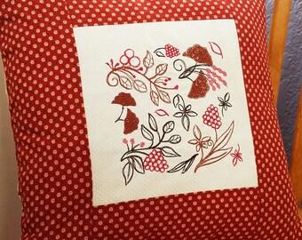 Leaf Block - Machine Embroidery Design