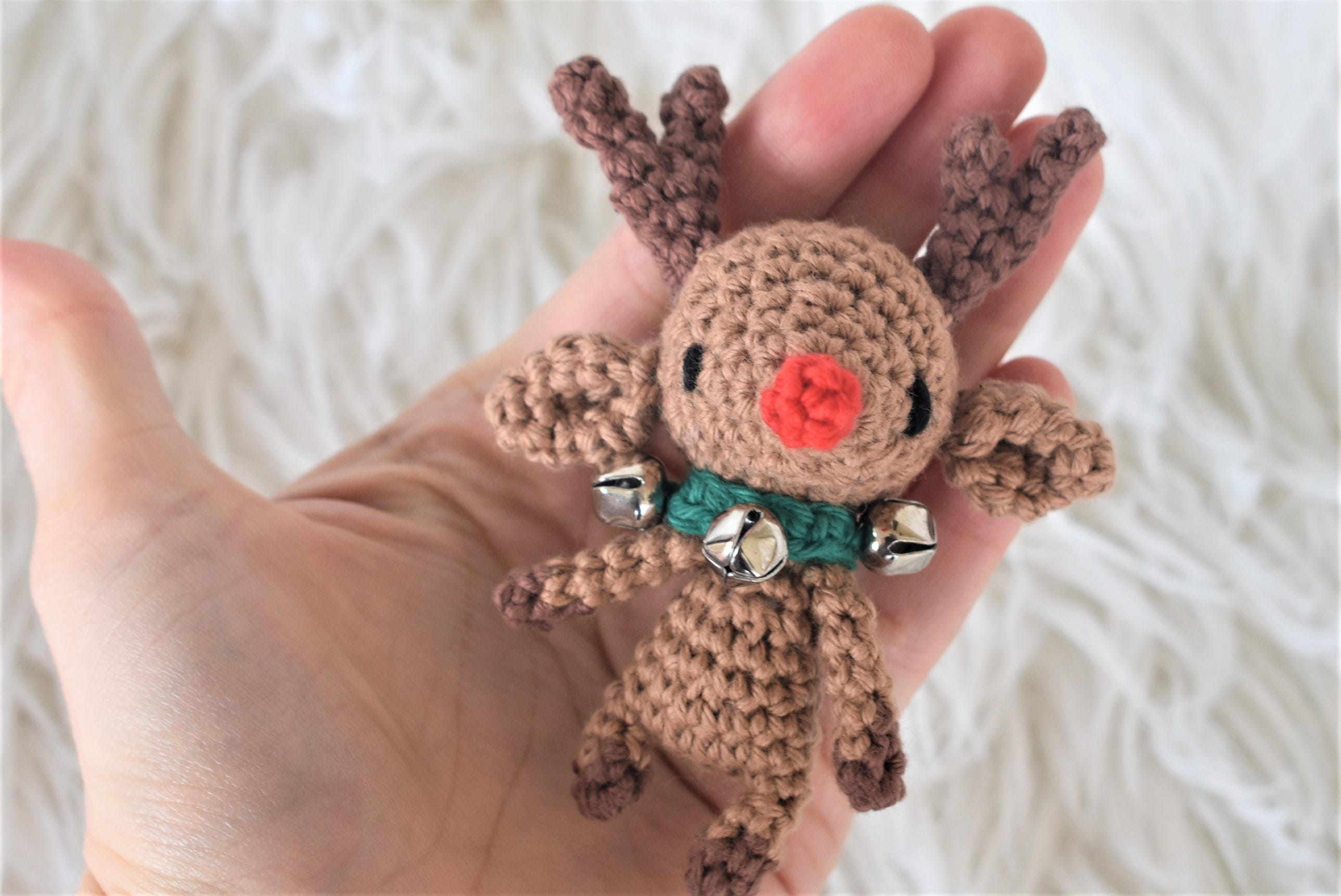 Rudolph the tiny reindeer crochet pattern amigurumi photo zoom bankloansurffo Choice Image
