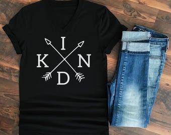 Kind shirt - Choose Kind - Kindness Matters - Choose Kind Shirt - Wonder - Kind is Cool - Kindness Shirt - Be Kind Shirt - Kind Arrows Black