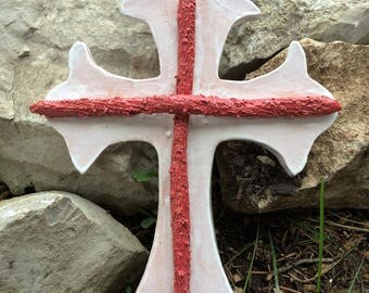 Red Dogwood & White Cross