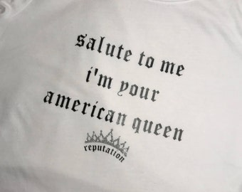King of my heart shirt / Reputation Shirt