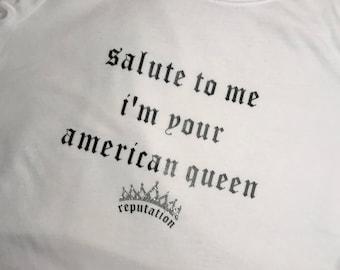 King of my heart shirt / Reputation Shirt