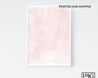 Abstract Print, Pink Painting, Printed and Shipped, Canvas Wall Art, Giclee Poster, Abstract Painting, Pink Wall Art, Abstract Art Prints.