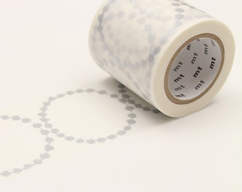 mt x Minä Perhonen - tambourine grande・silver < MTMINA31 > - Washi Tape  | masking tape | planner accessories | japanese stationery