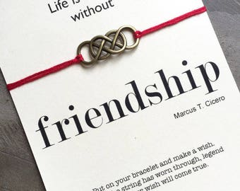 Friendship bracelets, Wish bracelet, Friendship favors, bff bracelets, Gift for best friend, Friendship gifts, Gift for friends, A25