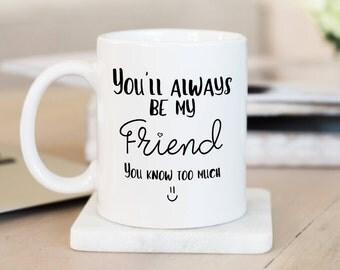 Best Friend Mug,Bestie Mug,Friendship Mugs,Bestie Gift,Best Friend Gift,Gift For Best Friend,Funny Best Friend Mug,Long Distance Friendship