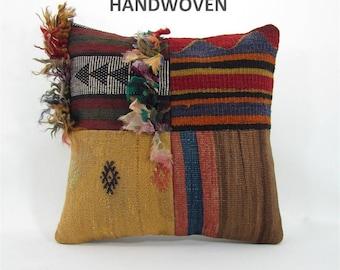 vintage pillow pillowcases kilim rug pillow pillow covers home decor vintage home decor antique kilim pillow 001045