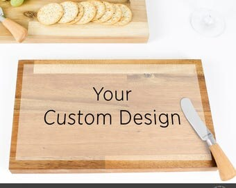 Hardwood Personalised Custom Cheese Board, Chopping Board, Serving Board, Wedding Gift, Anniversary Gift, Gift for Bride and Groom
