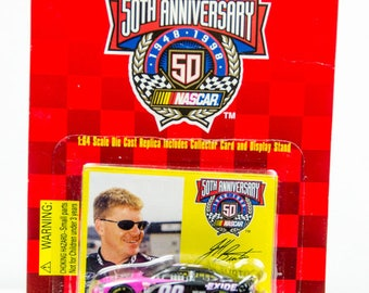 Racing Champions Nascar 50th Anniversary Jeff Burton 1/64 Diecast Car
