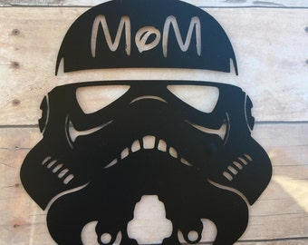 Stormtrooper Custom Your Name Vinyl Decal for Yeti, Phone, Laptop & more - You Choose Pattern + Color