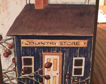 Handmade Card-Charming Country Store