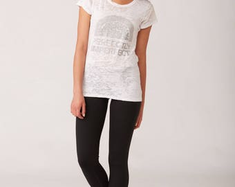 Perfectly Imperfect Burnout Short Sleeve Tee