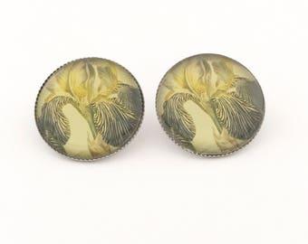 Victorian Floral Earring, Victorian Earrings, Floral Earrings, Vintage, Vintage Style, Victorian, floral, Flower Earrings, Victorian Jewelry