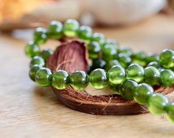 Bottle Green Beads