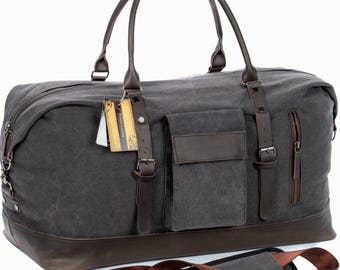 Leather duffle bag, duffle bag, leather bag, canvas duffle bag, mens duffle bag, large duffle bag, womens duffle bag, carry on bag, duffel