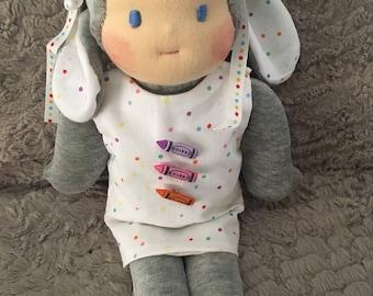 Waldorf Bunny doll