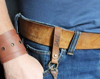 initial keyring custom keyring gift|for|men gift|for|husband gift|for|boyfriend gift|for|dad gift|for|brother gift|for|son leather keychain